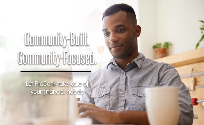 Community Built.  Community Focused.